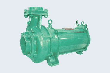 Horizontal Open well Submersible Pump Set